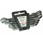 Kombinuotų raktų rinkinys su lanksčia terkšle 6vnt. (8-19mm) (M58604)
