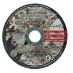 Pjovimo diskas 125x1.0x22.2mm RAPID (M08249)