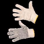 Darbo pirštinės taškuotos (juodos) (KD620-2)