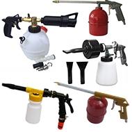 Pneumatiniai putų gaminimo / praplovimo / džiovinimo pistoletai