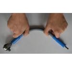 "Terkšlė galvutėms lanksčia rankena 400 MM ""Stahlberg"" HC0812"