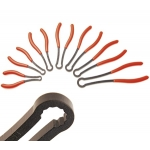 Užspaudžiamų lanksčių raktų-replių komplektas 7 vnt, 12 kampų, 8-17 mm (5288)