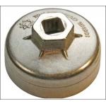 Lėkštelė tepalo filtrui aliumininė 75 mm x 12k (1035-75X12)