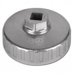 Lėkštelė tepalo filtrui aliumininė 74 x P-14 VW/Mercedes/BMW/Audi/Opel (1041)