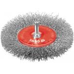 Diskinis šepetys su kotu | nerūdijantis plienas | INOX | 100 mm (YT-4758)