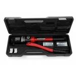 Hidraulinis kraštų užspaudimo įrankis | 10-300 mm² | 18 t (C0018)