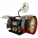 Elektrinis galąstuvas su apšvietimu | 350W | 150 mm x 2 + šepetys (BG815)