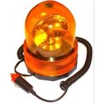 Magnetiniė įspėjamoji lemputė 360° | geltona šviesa | H1 lemputė / 12V (FE360)