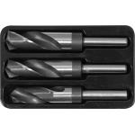 Grąžtų metalui rinkinys | 22 - 24 - 25 mm | 3 vnt. (YT-44626)