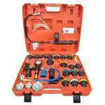 Radiatoriaus slėgio ir aušinimo sistemos testeris   34 vnt. (PT34)