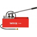 Rankinė pompa spaudmo testavimui 50 bar | 12 l (YT-24800)