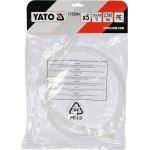 Plastiko suvirinimo juosta   polietilenas (PE)   2.5X5 mm   5х1m / 5 vnt. (YT-82304)