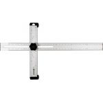 Kampainis reguliuojamas   aliuminis   600 x 320 mm (18374)