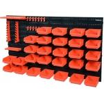 Stendas su dėžutėmis ir laikikliais | 48 dalių rinkinys (78771)