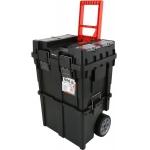 Dėžė įrankiams su ratukais | 2-jų dalių (YT-09160)