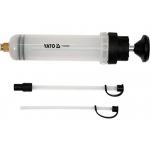 Švirkštas / rankinė pompa | 200 ml | su adapteriais (YT-07083)