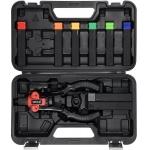 Kniediklis srieginėms ir paprastoms kniedėms | 3 viename (YT-36091)