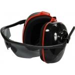Triukšmo mažinimo ausinės | su integruotais pilkais akiniais (YT-74635)
