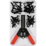 Kniediklis plastikinėms kniedėms su rinkiniu   41 vnt. (YT-35970)