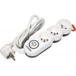 Elektrinis ilgintuvas | 3 lizdai | 1,5 mm2 | 1,5 m (72350)