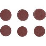 Šlifavimo padai / šlifavimo rinkinys | Ø 50 mm | K 60 - 80 - 120 | 30 vnt. (SK70194)