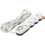 Elektrinis ilgintuvas | 4 lizdai | 1,5 mm2 | 3 m (72354)