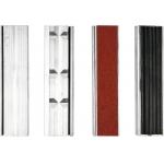 Spaustivų lūpų apsaugų rinkinys | aliuminis | 125 mm (YT-65007)