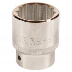 """3/4"""" Galvutė 12-kampė - 19mm(S16602)"""