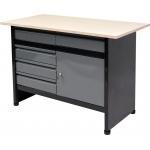 Stalas įrankių dirbtuvėms 1160 x 600 mm (58455)