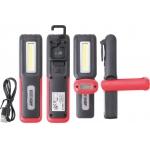 COB-LED darbinė rankinė lempa (9651)