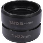 Atsarginis indėklas TH 32 mm presavimo replėms YT-21735 (YT-21747)