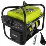 Benzininis inventorinis generatorius 2000W, 2600-3800aps/min (M82483)