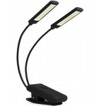 Šviesos diodų šviestuvas | su prisegtuku | 6W COB Led | USB | 2 vnt. (CDL02)