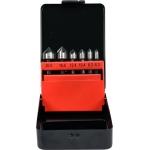 "Frezų/grąžtų metalui rinkinys HSS Hex 6,3mm (1/4"") 6.3-20.5mm (YT-44729)"