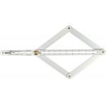 Kampų matavimo / žymėjimo įrankis 10-170° / 5-85° (YT-70853)