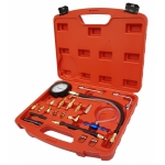 Kuro ir tepalo slėgio / spaudimo matuoklis su adapteriais (B100117)