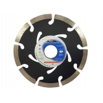 Deimantinis diskas 125x22.2x7 SEG. (juodas) (M08732)