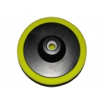 Poliravimo kempinė 150*50mm (geltona) (M07911)