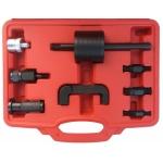 Purkštukų iškalėjų rinkinys su atbuliniu plaktuku ir adapteriais (XC8717)