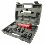 Priedo į grąžtą - kniediklio ir adapterių rinkinys | M3, M4, M5, M6, 8-32, 10-32, 10-24 ir 1/4-20 (RGA09)
