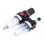 Oro srauto reguliatorius su drėgmės filtru ir tepaline 1/4'', 200l./min (AFC2000)