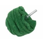 Abrazyvinis antgalis | rutulio formos | žalias | P 400 | 100 mm (SK19683)