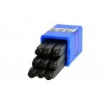 Skaičių išmušėjų rinkinys 4mm/9vnt. (G01806)