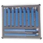 Tekinimo įrankių rinkinys 12x12, 11vnt. (M22360)