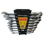 Terkšlinių raktų rinkinys šarnyriniai 8-19 mm, 8 vnt. (SK5001)