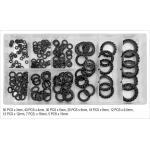Antivibracinių poveržlių rinkinys   Mix / 3 - 19 mm   200 vnt. (YT-06863)