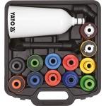 Alyvos piltuvo adapterių rinkinys | Plastikinis tipas | 15 vnt. (YT-06919)