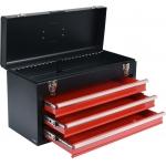 Metalinė įrankių dėžė, tuščia   3 stalčiai (YT-08873)