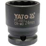 "Galvutė smūginė 24 mm 1/2"" (YT-1027)"