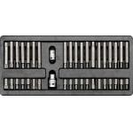Įrankių rinkinys į vežimėlius-antgaliai 40vnt. (YT-5538)